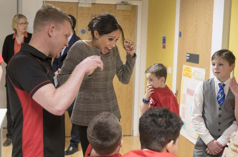 03 Meghan Markle Hung Out with Children and Her Reactions Were Too Precious Photo C GETTY