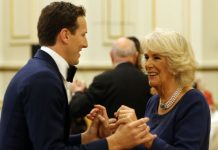 Brendan Cole reveals the time he bravely broke royal protocol Photo (C) GETTY