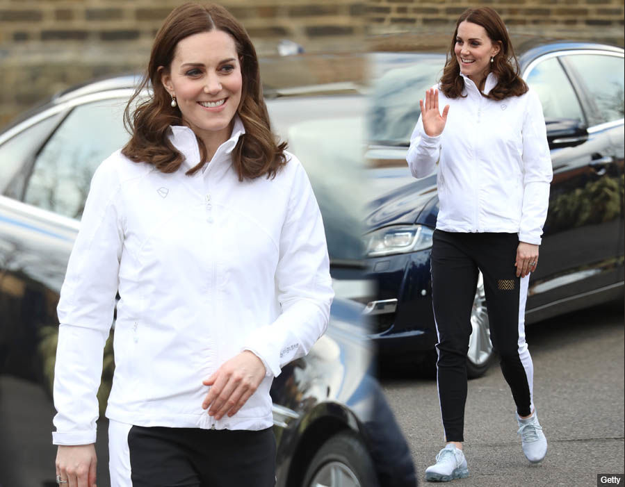 Catherine Duchess of Cambridge Photo (C) GETTY
