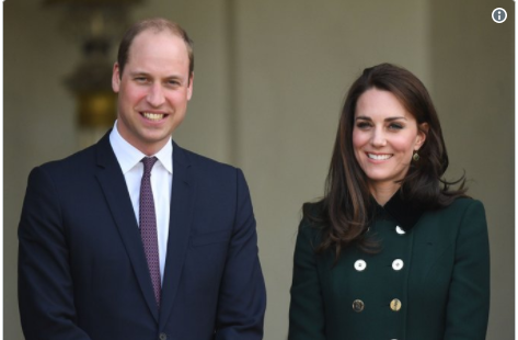 Catherine Duchess of Cambridge and Prince William Photo C KENSINTON PALACE