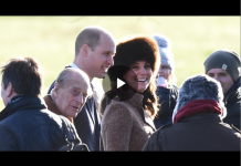 Catherine Duchess of Cambridge joined Sister Pippa Middleton for Church Service