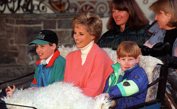 Diana asked Debbie to look at the young princes' astrological charts Photo (C) GETTY