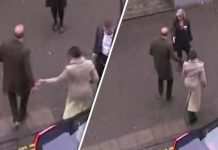 Did Prince Harry shun Meghan Markle before greeting Photo (C) SKYNEWS