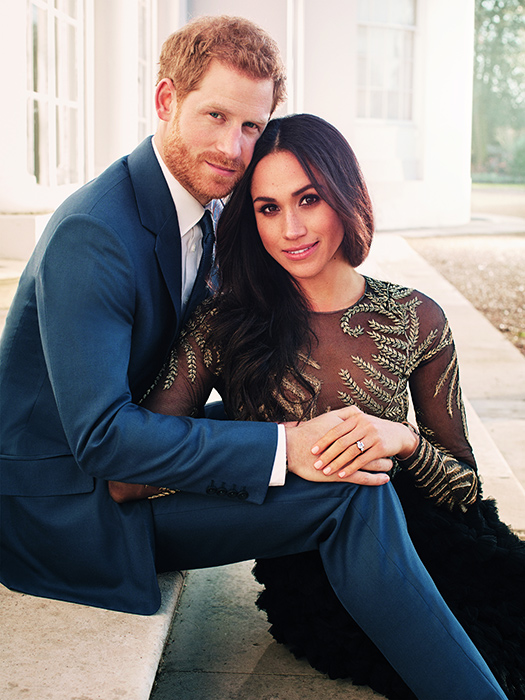 Donald Trump had this to say about going to Prince Harry and Meghan's wedding Photo (C) GETTY