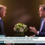 Donald Trump spoke to Piers Morgan in a new interview PDonald Trump spoke to Piers Morgan in a new interview Photo (C) GETTYhoto (C) GETTY