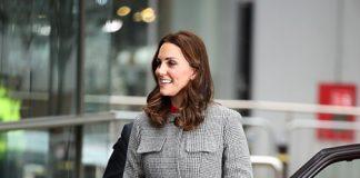 Duchess Kate stunned in L.K.Bennett coat Photo C GETTY
