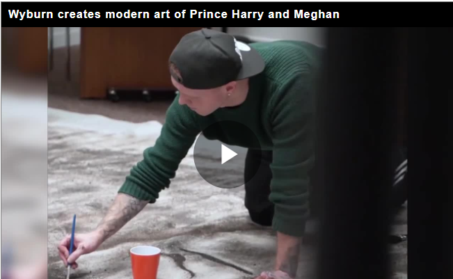 First Royal Painting of Prince Harry and Meghan Markle