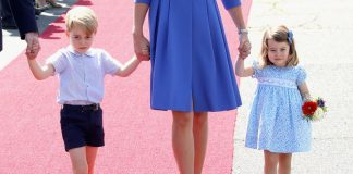 Prince George and Princess Charlotte of Cambridge Photo (C) GETTY IMAGES