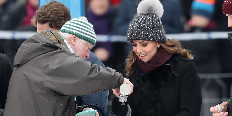 Kate Middleton and Prince William are currently on Royal Tour in Sweden where they spent the day playing Bandy Photo C GETTY