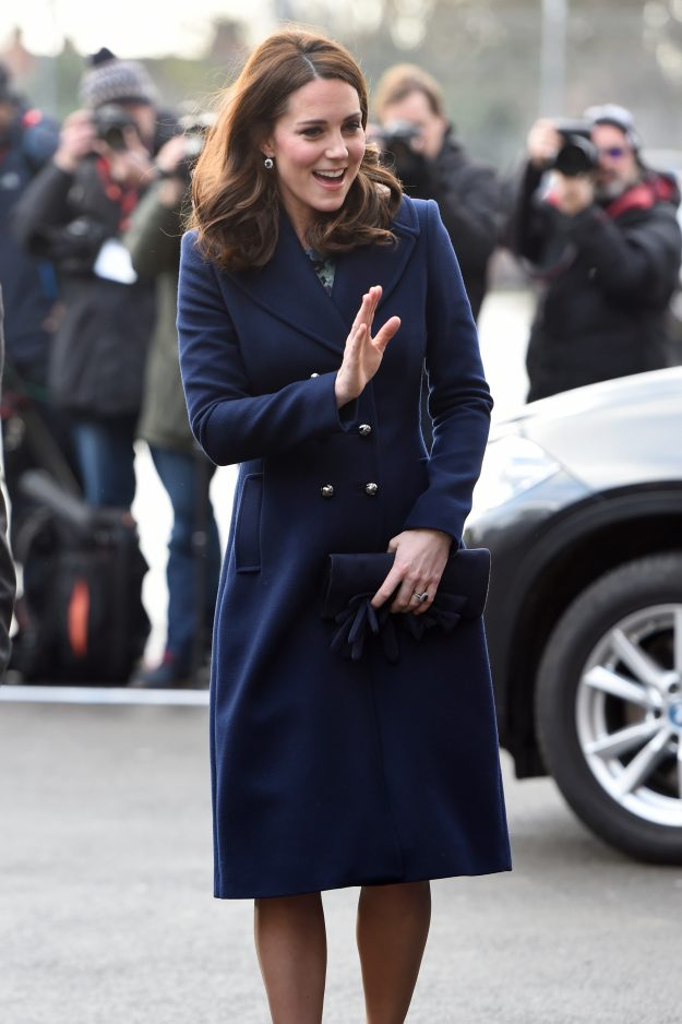 Kate Middleton broke a very special royal fashion rule recently [Getty]