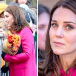Kate Middleton came to the aid of an ill 10 year old boy today in Coventry Photo C GETTY PA