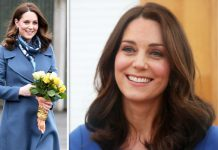 Kate Middleton may have hinted she is expecting a baby boy Photo (C) GETTY