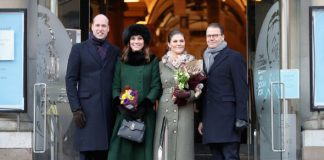 Kate Middleton news The British and Swedish royals posed together for a photo Photo C GETTY IMAGES