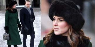 Kate Middleton news The Duchess of Cambridge stepped out in fur again today Photo (C) PA, GETTY IMAGES