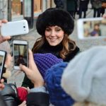Kate Middleton news The Duchess smiled as bystanders took photos of her Photo C PA