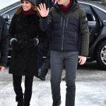 Kate Middleton news The couple waved to waiting crowds on their first day in Sweden Photo (C) PA