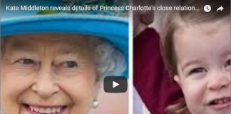 Kate Middleton reveals details of Princess Charlotte's close relationship with the Queen