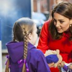 Kate Middleton spoke to children at Great Ormond Street hospital Wenn