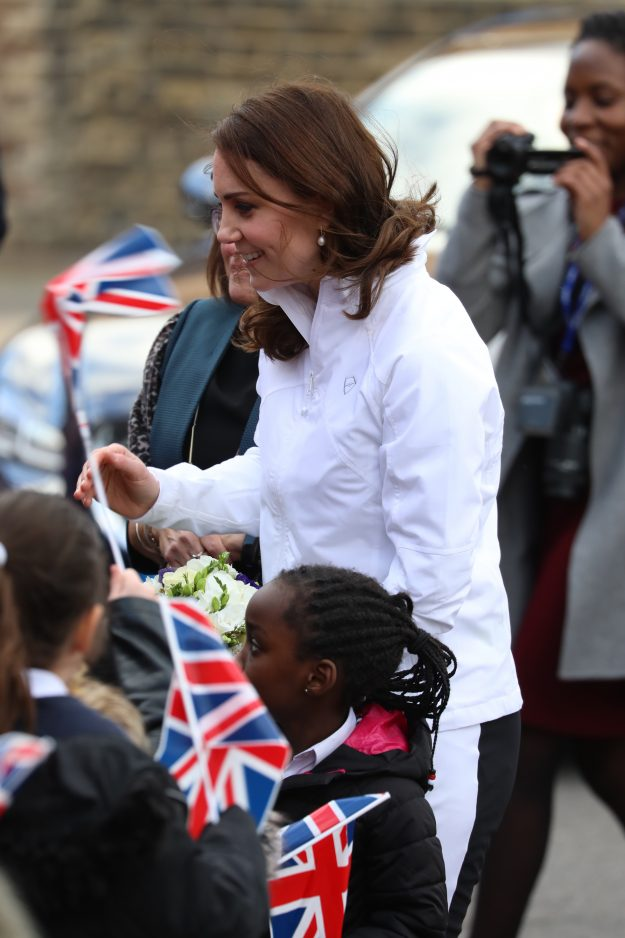 Kate Middleton revealed Princess Charlottes favourite food is pasta Getty