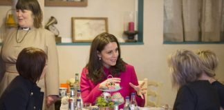 Kate and William visited the cathedrals café which raises money for addicts and the homeless Photo C GETTY