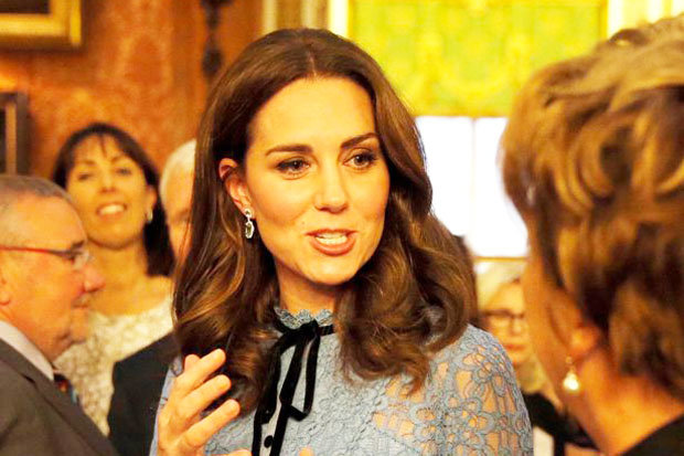 Kate is expected to give birth in April Photo (C) PA