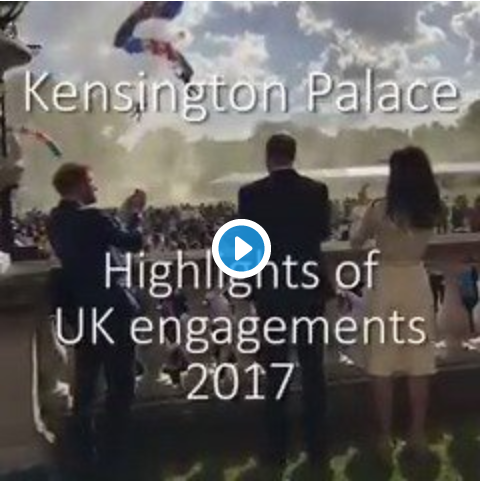 Kensington Palace Shared Special Moments