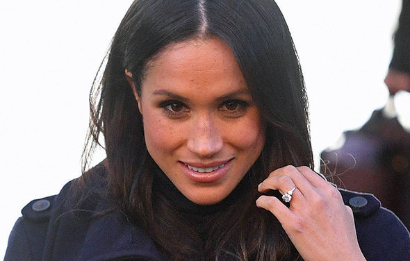 Meghan Markle and Ms Priddy fell out after graduating Photo (C) GETTY