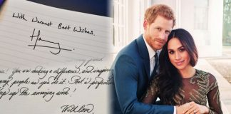 Meghan Markle and Prince Harry A handwriting expert has predicted future problems Photo (C) GETTY
