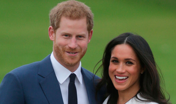 Meghan Markle and Prince Harry The pair are due to marry in May this year Photo (C) GETTY