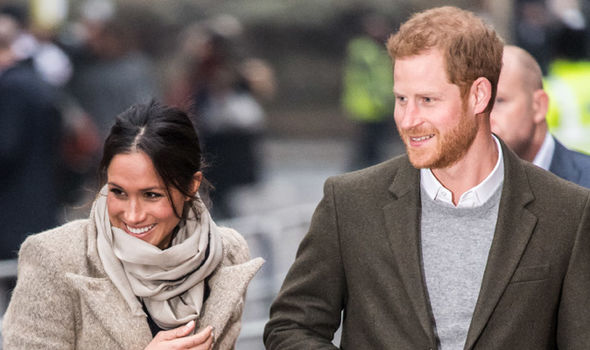 Meghan Markle and Prince Harry The pair are set to marry on Saturday 19 of May Photo (C) GETTY