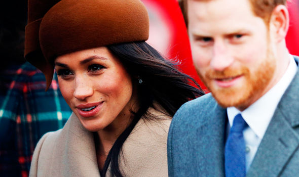 Meghan Markle and Prince Harry will get married in April of this year Photo (C) GETTY