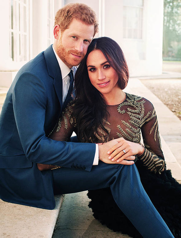 Meghan Markle and Prince Harry will get married in May Photo (C) GETTY