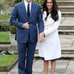 Meghan Markle broke the royal rule during her engagement photo call Getty