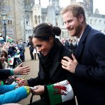 Meghan Markle delighted a royal fan during her visit to Cardiff breaking royal protocol by doing so Photo C GETTY IMAGES