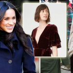 Meghan Markle dress for Christmas with the Queen and Prince Harry Photo C GETTY