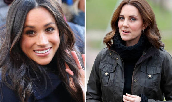 Meghan Markle has reportedly asked Kate to be her maid of honour Photo (C) GETTY