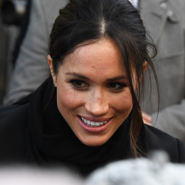 Sweet Moment: Meghan Markle Spotted A Child Crying And