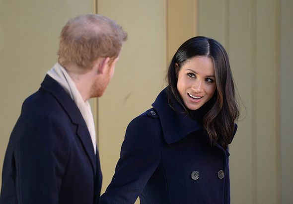 Meghan Markle will wed Harry in May Photo (C) GETTY
