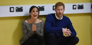 Meghan and Harry recently visited Cardiff Photo (C) GETTY