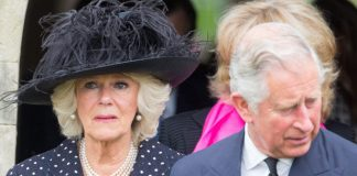 Prince Charles and Camilla on Brother Funeral Photo (C) GETTY