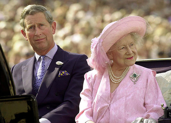 Prince Charles was devastated when his beloved grandmother passed away Photo C GETTY