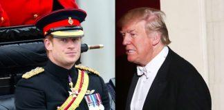 Prince Harry Donald Trump Photo C GETTY