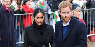 Prince Harry and Meghan Markle dazzle crowds in Cardiff following train delay Photo C GETTY