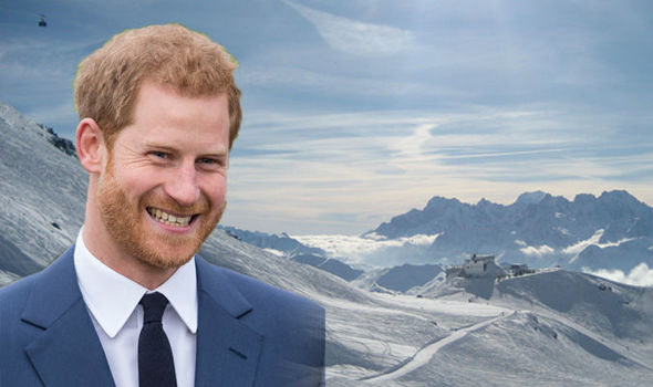 """Prince Harry and Meghan Markle news Harry's team are said to have done a """"recce"""" at Verbier Photo C GETTY"""
