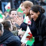 Prince Harry and Meghan Markles trip to Cardiff were greeted with cheers and applause from well wishers on Thursday afternoon Photo C GETTY IMAGES