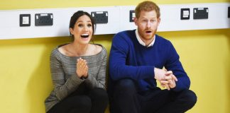 Prince Harry and Meghan may be joined by the supernatural kind Photo C GETTY