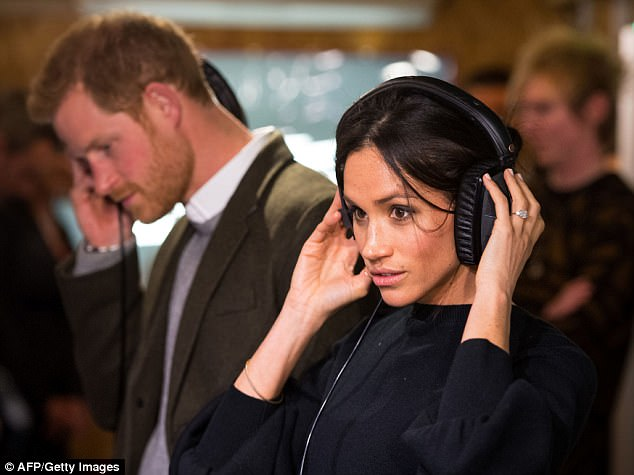 Prince Harry and fiance Meghan paid a visit to radio station, Reprezent during the second public engagement together