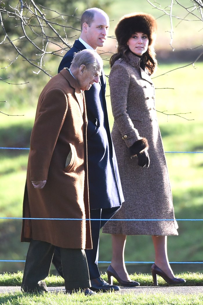 Prince Philip, Prince William and Kate Middleton Joe Giddens, PA Images, Getty Images