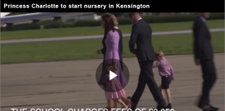Prince William, Prince George, Princess Charlotte Elizabeth Diana, Princess Charlotte