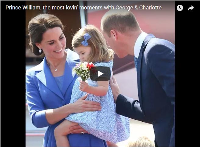 Prince William Prince George Princess Charlotte Elizabeth Diana Princess of Wales Royals British Royal Family Royal News